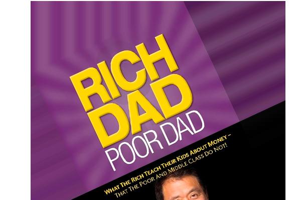 "Boganmeldelse af Robert Kiyosakis ""Rich Dad Poor Dad"""