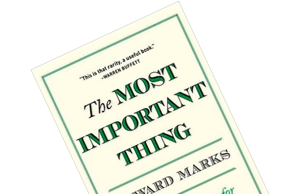 "Boganmeldelse af Howard Marks ""The Most Important Thing"""